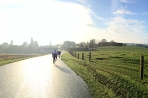 Morning Cycling in France