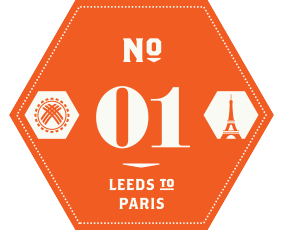 Leeds to Paris Sept 2014