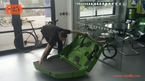 Bike Box - open box
