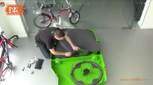 Bike box - fit foam