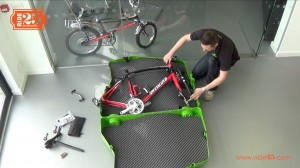 Bike box - frame and saddle