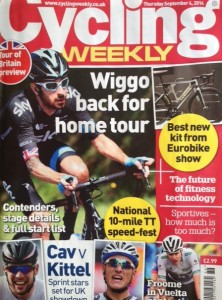 Cycling Weekly 4th September 2014 jpg