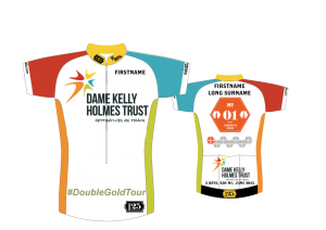 Double Gold Tour 2015 - Final branded shirt design