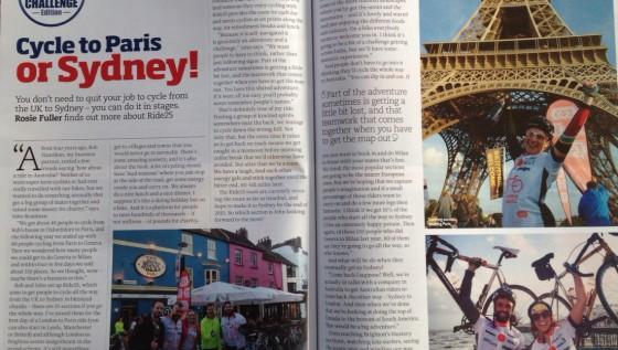 Adventure Travel Ride25 article Jan Feb 2015