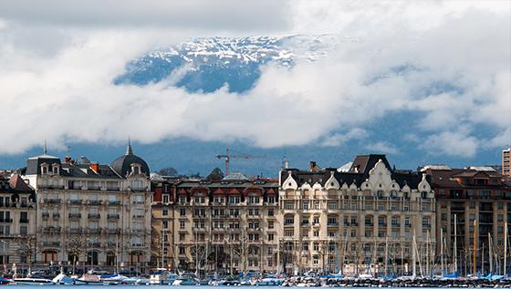 Day 5&6 - rest days in Geneva