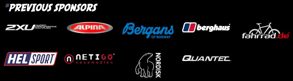 Patrick's previous sponsors