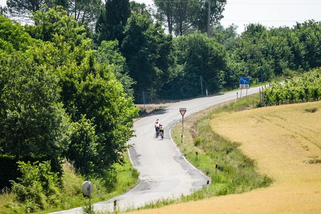 Riding in Italy