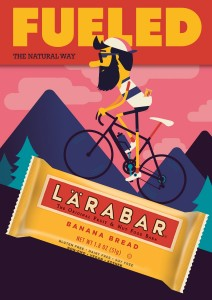 LÄRABAR banana: fueling cyclists