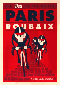 Spencer's Paris Roubaix poster