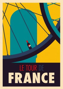 Spencer's Tour de France poster