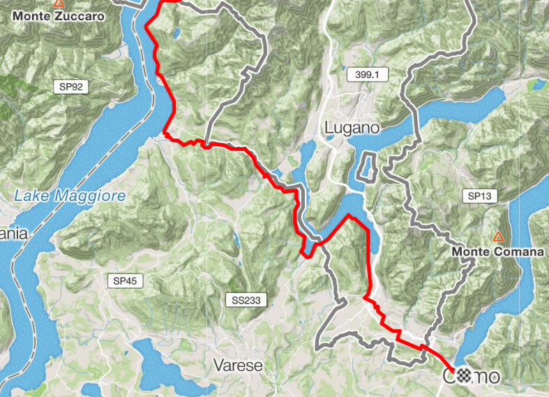 Geneva to Milan day 3