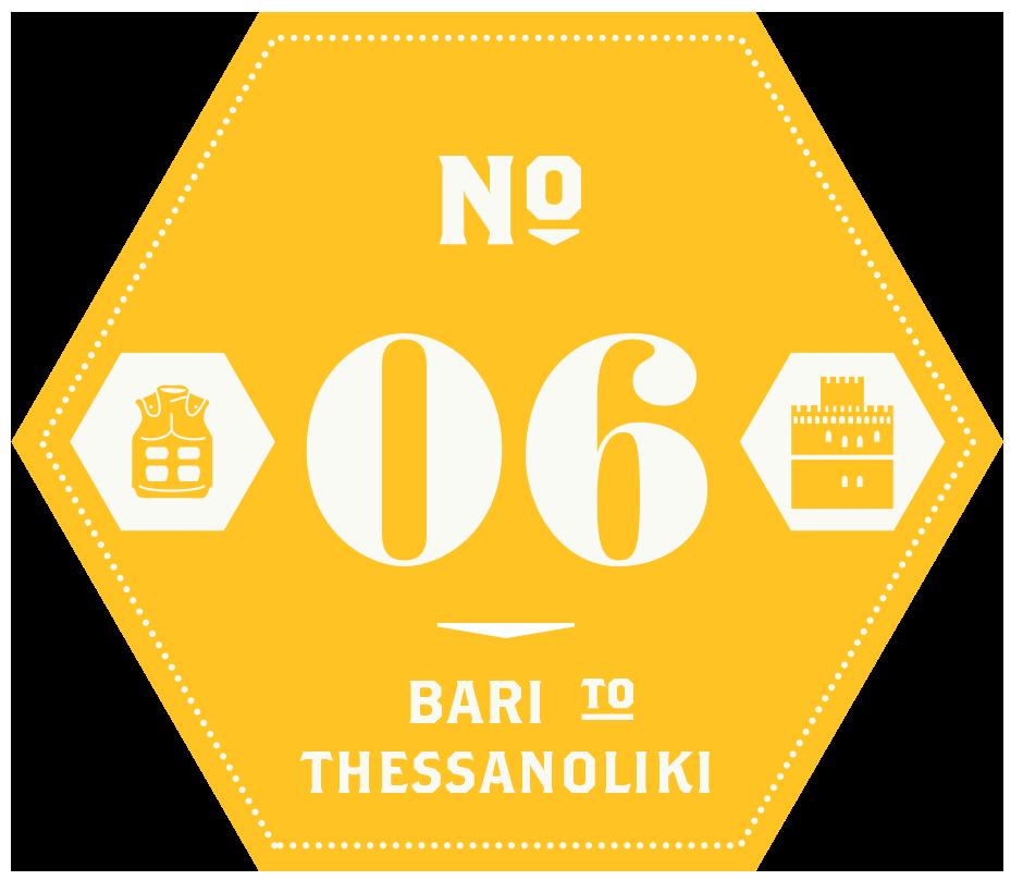 Pioneers – Leg 6 Bari to Thessaloniki